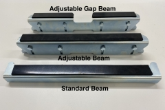 Adjustable Gap Beam Mount, Adjustable Beam Mount & Standard Beam Mount