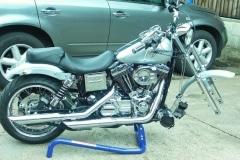 Harley Davidson fast wheel removal