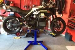 Lifting MotoGuzzi Griso