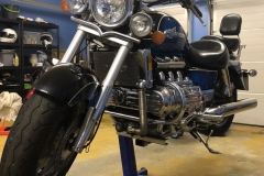Honda Valkyrie lift on Big Blue