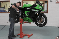 Kawasaki Ninja motorcycle  Lift
