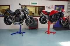 Motorbike workshop Service Stands
