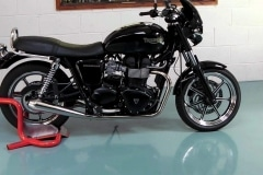 Classic or sports bike wheel chock