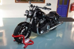 Triumph Thunderbird Motorcycle paddock stand